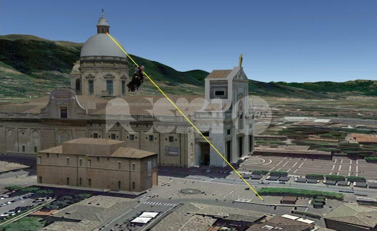 La Befana più alta d'Europa è dei Priori Serventi 2020 di Assisi