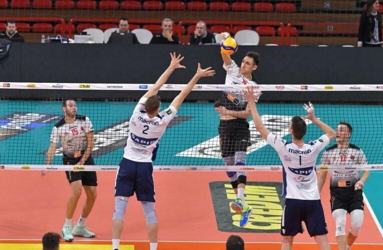 Sir Volley Perugia 'calda', 12 aces nel test amichevole con Ravenna