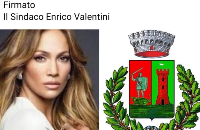 «Jennifer Lopez, vieni a vivere in Umbria»: l'invito del sindaco alla popstar