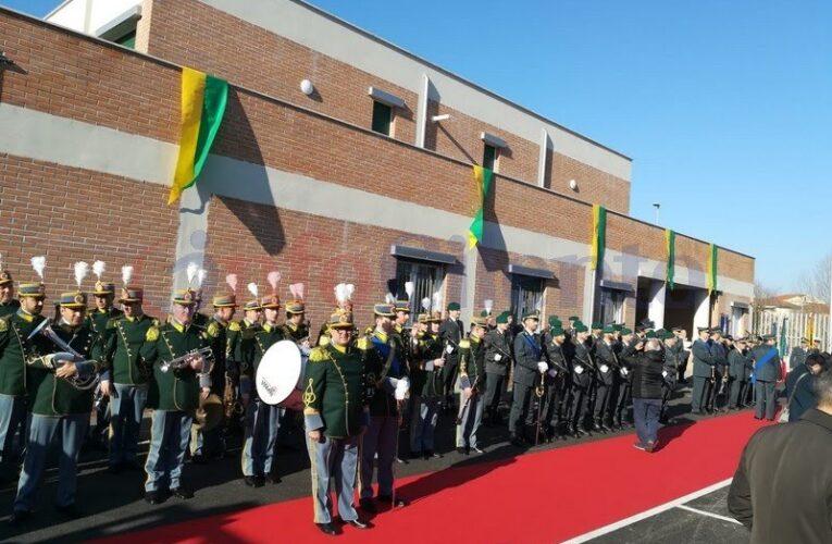 Inaugurata nuova caserma della Guardia di Finanza di Agropoli