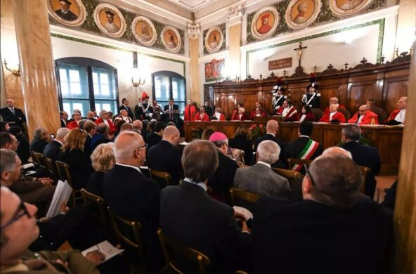 Perugia, l'inaugurazione della'Anno giudiziario 2020