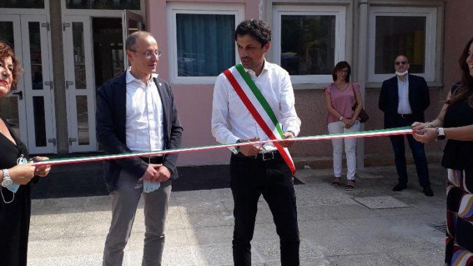 Il Sindaco di Perugia e l'assessore Varasano inaugurano il nuovo centro per l'infanzia di Santa Lucia