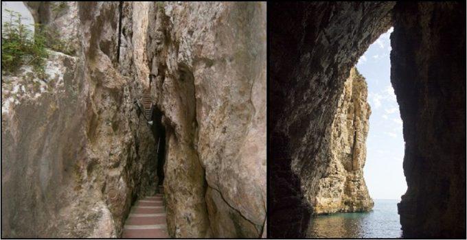 Il santuario della S.S. Trinità alla Montagna spaccata a Gaeta